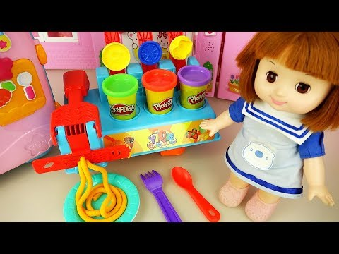 baby-doll-color-bread-and-dessert-maker-and-baby-doli-cute-music---toypudding