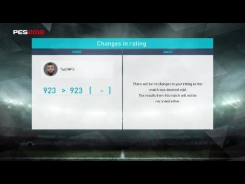 Lag Cheater on PS4 {Lg---2018}, PES19 coming & people still cheat! WTF