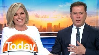 Georgie can't help Karl with 'his issues' | TODAY Show Australia