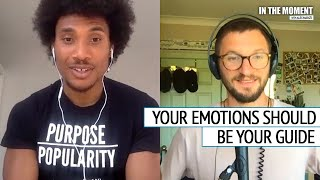 Darius Charles: Emotions Guide You Through Life | In The Moment Podcast