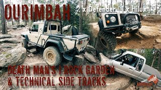 Ourimbah-2 | 4x4 | 2 x Defender & 1 x Hilux | Death Man & Technical Side Tracks | ALLOFFROAD#126