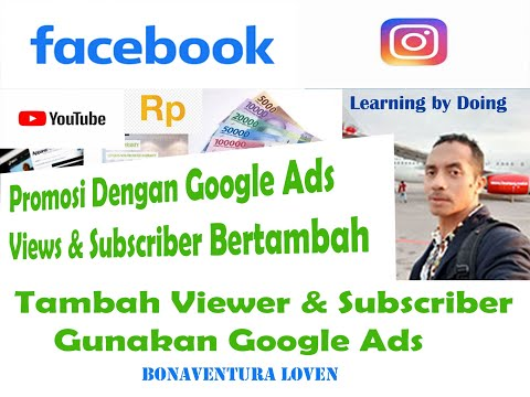 Cara Mempromosikan Video Channel Youtube Di Google Ads Cara Buat Akun Google Ads Untuk Promosi Youtube