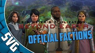 Civilization Beyond Earth - Factions