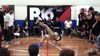R16 Oceania 2014 Crew Battle TOP8: FUN CREW V Team Cream