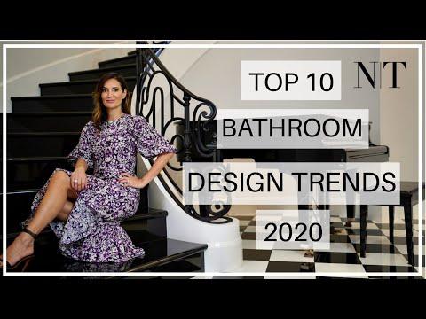 TOP 10 BATHROOM TRENDS & TIPS 2020 | NINA TAKESH