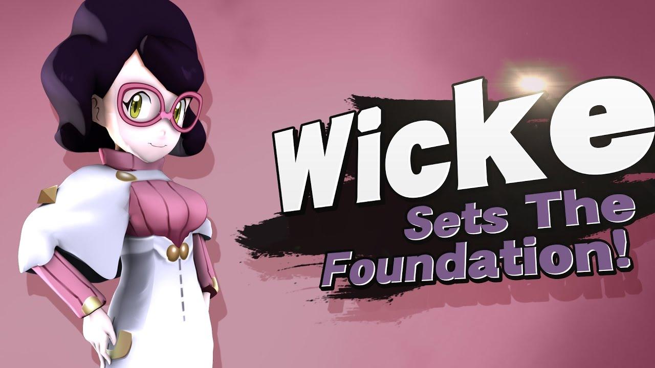 Wicke joins the battle! (SSB4 Mod) (Wi-fi Safe Skin + Expressions) by  Scorpob