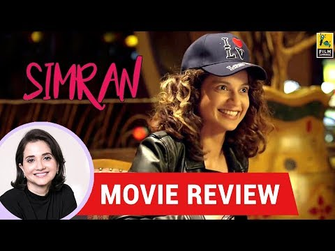 Anupama Chopra's Movie Review of Simran