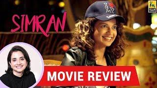 Anupama Chopra's Movie Review of Simran