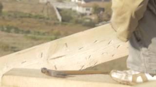 Монтаж скользящих креплений стропил закрытого типа