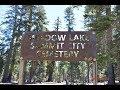 The Meadow Lake Cemetery, Nevada County, California.