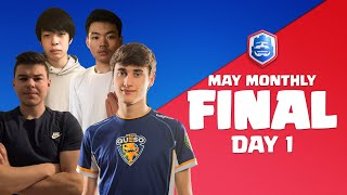 Clash Royale League 2021 | May Monthly Final | Day 1