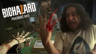 ¡ME CORTARON LOS DEDOS JUGANDO AL 21! | Resident Evil 7 DLC