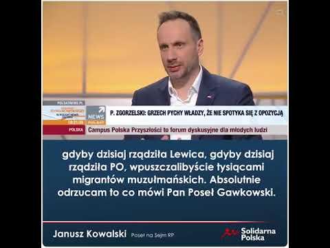 Gdyby dzisiaj rządziła Lewica i PO tysiące migrantów muzułmańskich wpuszczanych byłoby do Polski!