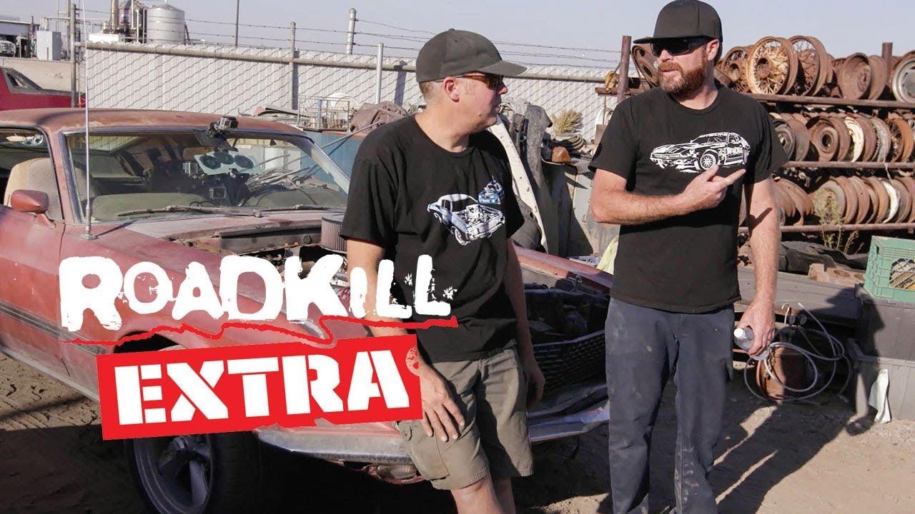 Junkyard Crawl During the Disgustang Road Trip - Roadkill Extra