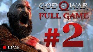 GOD OF WAR 4 (2018) | Full Game Stream #2