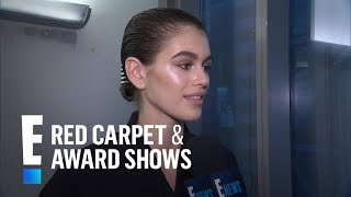 Kaia Gerber Gushes Over Working With Alexander Wang--Again! | E! Live from the Red Carpet