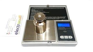 Як калібрувати цифрові ваги. Калібрування ваг Digital Scale-500