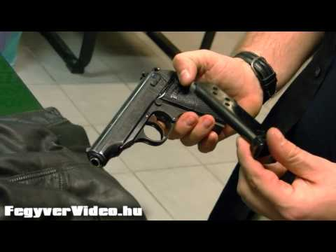 Walther PP  7,65 mm Browning pre-WW2 original - FegyverVideo hu