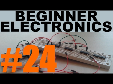 Beginner Electronics - 24 - Integrated Circuits: 555 Timer
