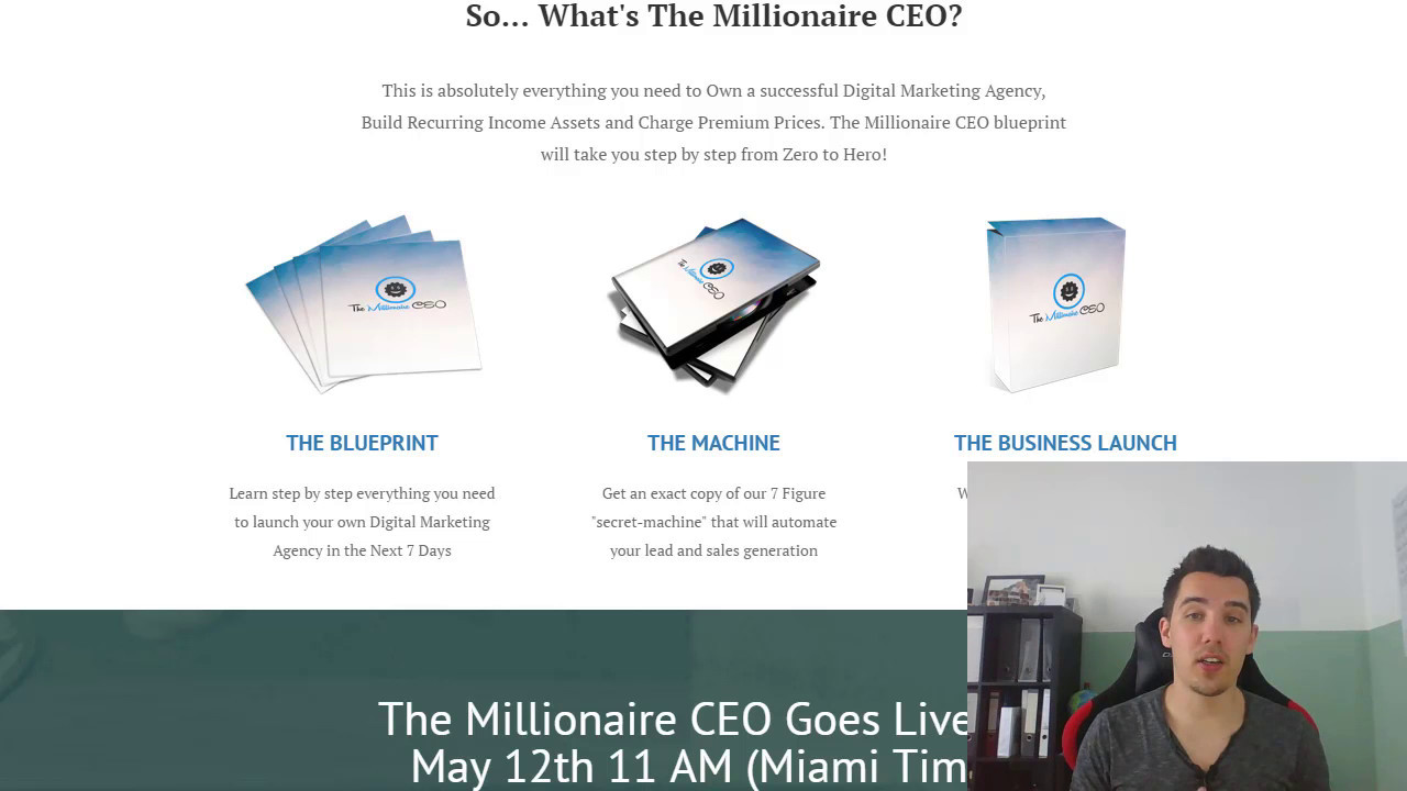 The millionaire ceo review 2017 build your own digital agency the millionaire ceo review 2017 build your own digital agency youtube malvernweather Gallery