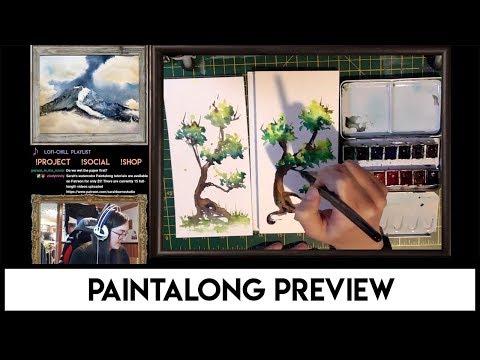 Watercolor Paintalong Tutorials Promo #2