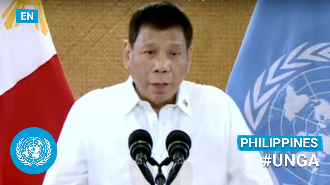 Download 🇵🇭 Philippines - President Addresses United Nations General Debate, 76th Session (English) | #UNGA