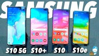 📱 Nový Samsung Galaxy S10e, S10, S10+ a S10 5G: Vše co potřebuješ vědět! | WRTECH [4K]