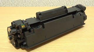 Як заправити картридж Canon 712, 725, 726, 728, HP 35A, 36A, 78A, 85A