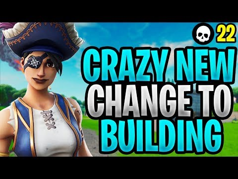Fortnite Just Made A CRAZY Change To Building... (NEW Building Update - Season X)