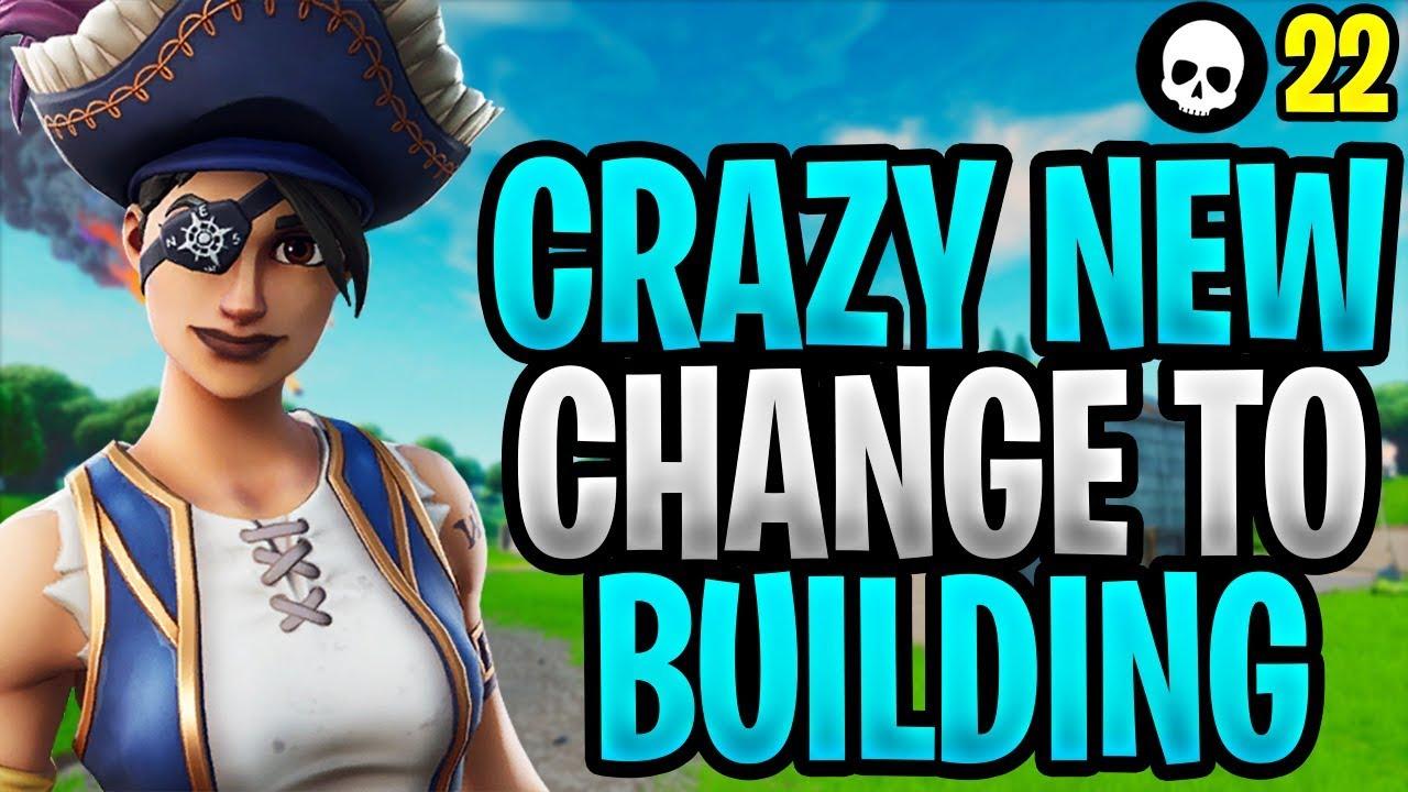 Fortnite acaba de hacer un cambio loco a la construcción ... (NUEVA actualización de construcción - Temporada X) + vídeo