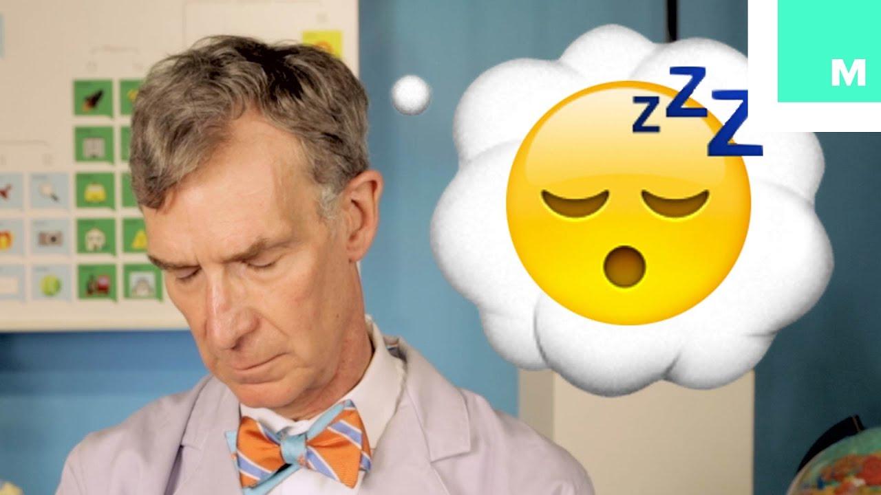 Bill Nye Explains How You Dream with Emoji