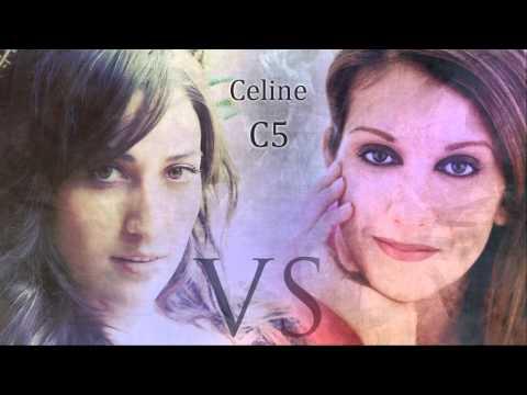 (HD) Celine Dion vs Sara Bareilles: Studio (C3-F#5)