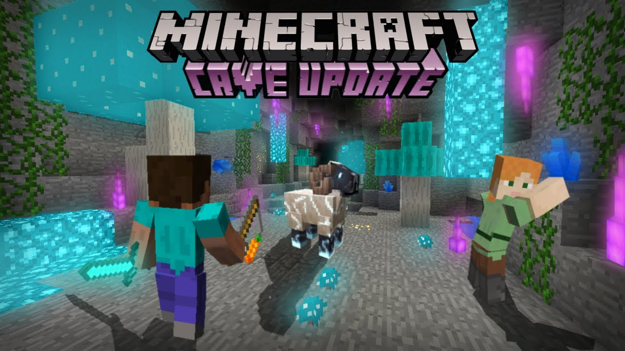 Minecraft PE 12.127.12 - Trailer Oficial (Caves And Cliffs)