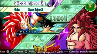 DBZ Shin Budokai 2 MOD TRANSFORMATION SAIYAN V2 (Download Link)