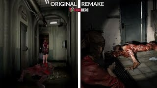 RESIDENT EVIL 2 REMAKE - Graphics Comparison