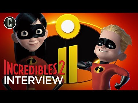 Incredibles 2  with Violet and Dash Actors, Sarah Vowell and Huck Milner