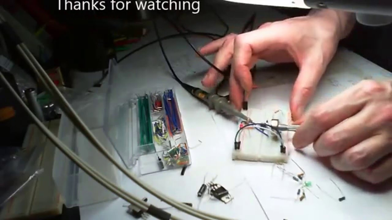 Led Dimmer Circuit Pwm 555 Timer Ic Youtube