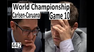 Carlsen-Caruana ¦ Game 10 ¦ 'If it's not Checkmate, I am losing!'