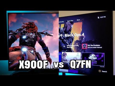 Sony X900F vs Samsung Q7FN Side by Side Comparison
