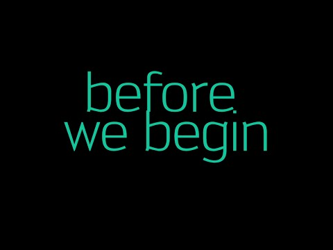 Before We Begin - Official Lyric Video