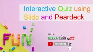 Download lagu Interactive Quiz using Slido and Peardeck