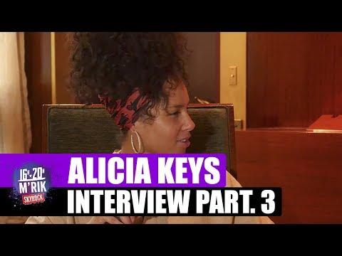 """Interview Alicia Keys x Mrik : """"La vérité sur son clip avec Beyoncé"""" #Part3 [Skyrock]"""