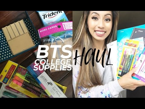 College School Supplies HAUL! Fall 2016 // @ohdangdanii