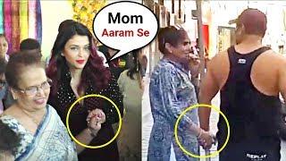 Aishwarya Rai Vs Salman Khan | Showing Love And Care For Their Mother