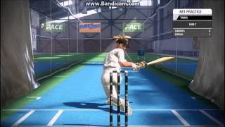 Don Bradman Cricket 14  GAMEPLAY: NETS
