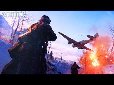 Геймплей Battlefield 5 / Анонс Стримов E3 2018 + Итоги Эксперимента thumbnail