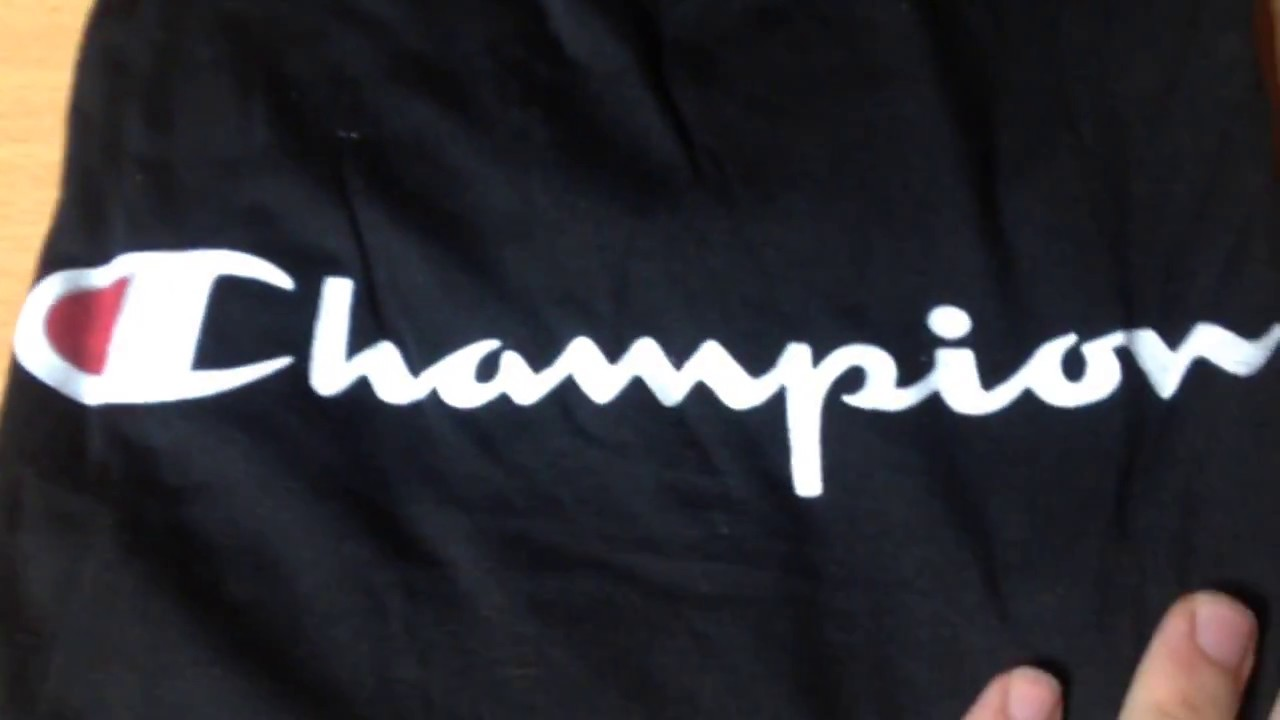 T-Shirt Champion 8€   Ioffer Cdiscount. Unboxing Fake d59cbd9b910