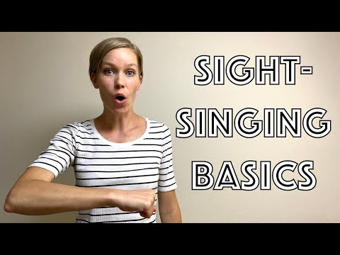 HOW TO SIGHT-SING - beginner guide