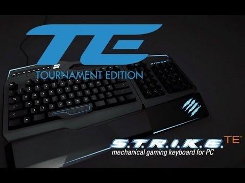 Mad Catz S T R I K E  TE (Tournament Edition) - Mechanical