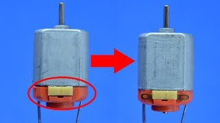 How to Repair Dc Motor Easily at home
